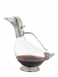 Regent Decanter Duck Silver Plated