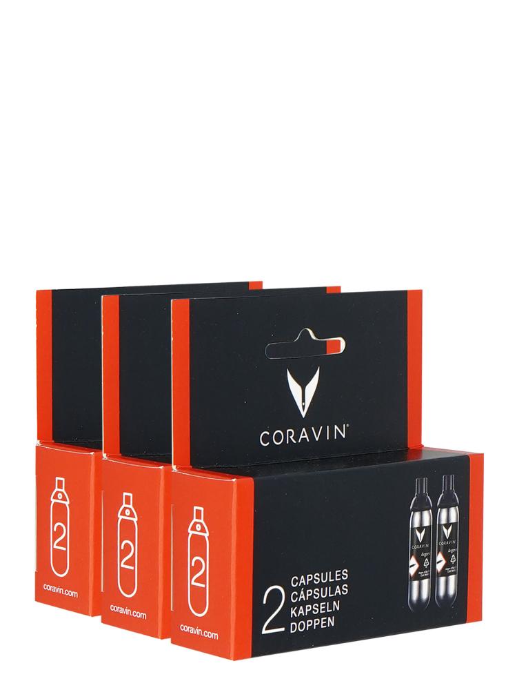 Coravin  Capsules ( 3 Pack 6 Capsules)