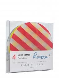L'Atelier Coasters Sous-verres Riviera 954661
