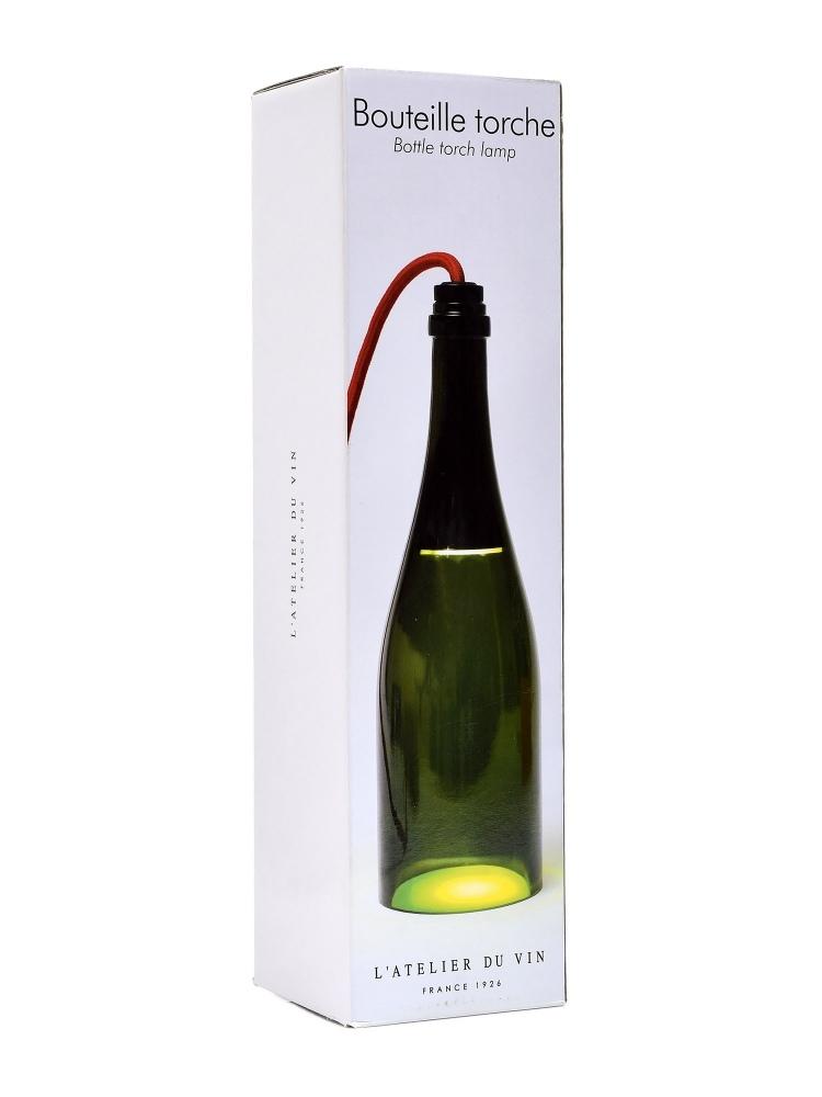 L'Atelier Bottle Torche Lamp Verte 953213