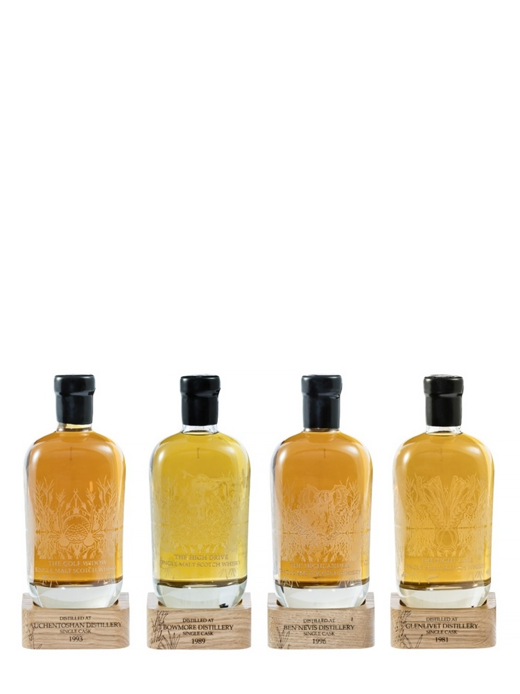 Golden Decanters The First Collection