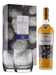 Macallan  12 Year Old Double Cask Limited Edition 2016 Release w/glasses 700ml
