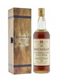 Macallan 1937 70deg Proof Pure Malt w/wooden box