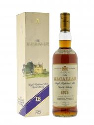 Macallan 1975 18 Year Old Sherry Oak w/box 700ml