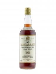 Macallan 1966 18 Year Old Sherry Oak (bottled 1985) 750ml