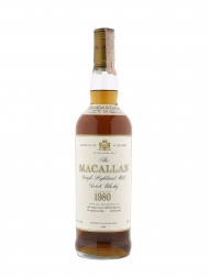 Macallan 1980 18 Year Old Sherry Oak (Bottled 1998) 700ml