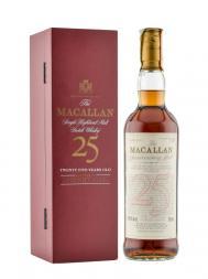 Macallan  25 Year Old Anniversary Malt w/gift box 700ml