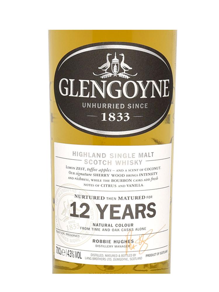 Glengoyne 12 Year Old Single Malt Whisky 700ml - 6bots