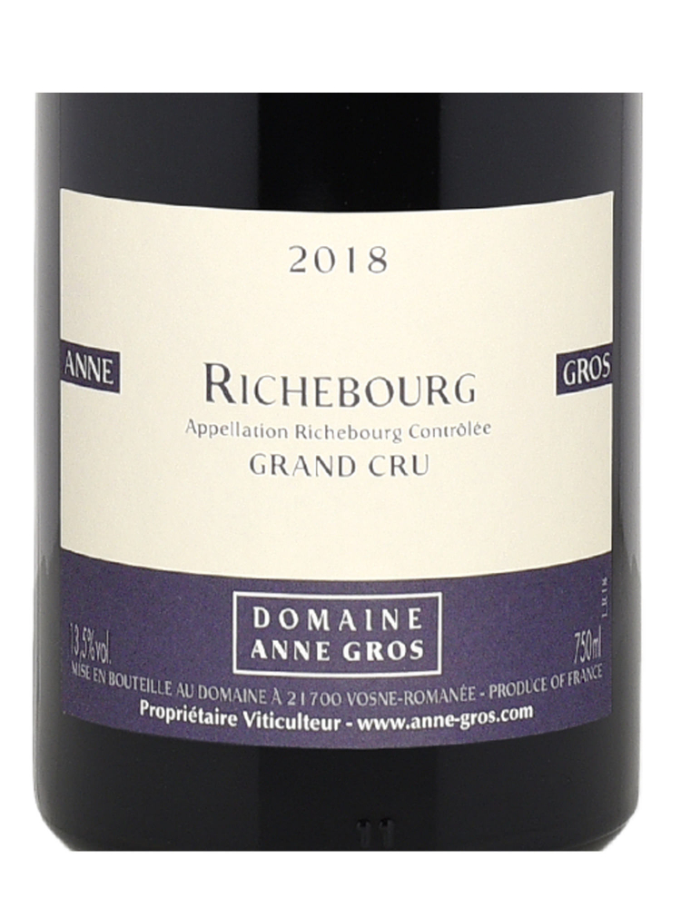 Anne Gros Richebourg Grand Cru 2018