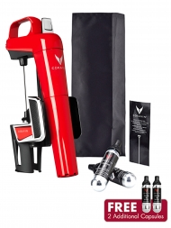 Coravin Model Two Elite Red Wine System + Capsules (Pack of 2)