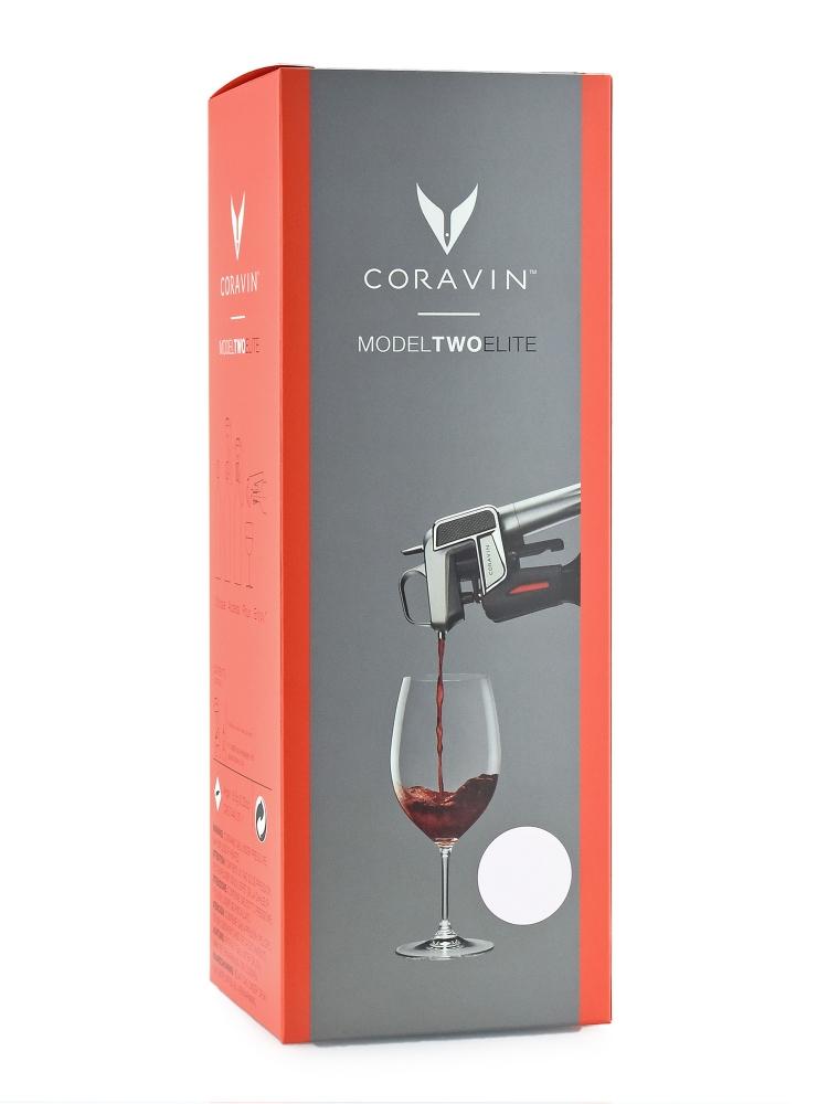 Coravin Bonus Pack Model Two Elite Silver Wine System