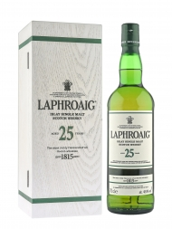 Laphroaig 25 Year Old Single Malt Scotch Whisky (Edition 2016) 700ml