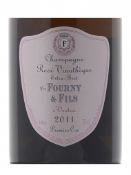 Veuve Fourny Rose Vinotheque Extra Brut 2011 - 6bots