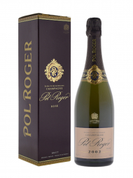 Pol Roger Rose 2002 w/box