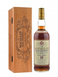 Macallan 1980 18 Year Old Gran Reserva (Bottled 1999) w/wooden box 700ml