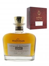 Macallan 1990 26 Year Old Maltman Decanter Single Malt Whisky 700ml
