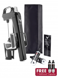 Coravin Model Two Elite Piano Black Wine System + Capsules (Pack of 2)