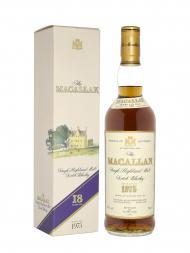 Macallan 1975 18 Year Old Sherry Oak (Bottled in 1993) w/box 700ml