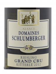 Domaines Schlumberger Riesling Kitterle Grand Cru 2012