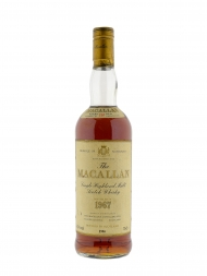 Macallan 1967 18 Year Old Sherry Oak (Bottled 1986)