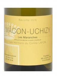 Heritiers du Comtes Lafon Macon Uchizy Les Maranches 2016 - 6bots