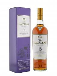 麦卡伦 18 年雪莉桶2017年度发行陈酿威士忌700ml