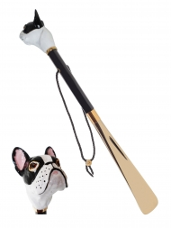 Pasotti Shoehorn French Bulldog K61bi Gold