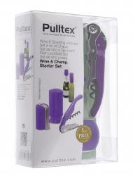Pulltex Wine & Champagne Starter 3 pcs Violet 107782