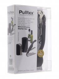 Pulltex Wine & Champagne Starter 3 pcs Black 107781