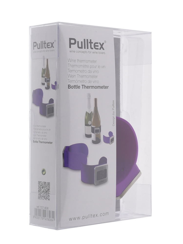 Pulltex Bottle Thermometer Purple 107808