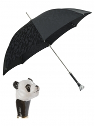 Pasotti Umbrella UAK60 Panda Handle Black Camouflage Print
