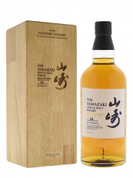 Yamazaki Mizunara 18 Year Old Single Malt Whisky 2017 700ml