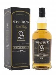 Springbank 32 Year Old Single Malt Whisky 700ml