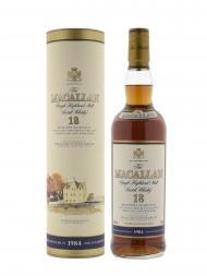 Macallan 1984 18 Year Old Sherry Oak (Bottled 2002) 700ml