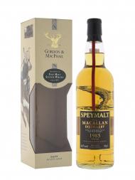 Macallan Speymalt 1985 Single Malt Whisky Gordon & MacPhail (Bottled 2002) w/box 700ml