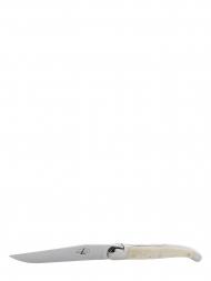 Forge de Laguiole Table Knives Bone Handle T62MINOSBRI Set of 6