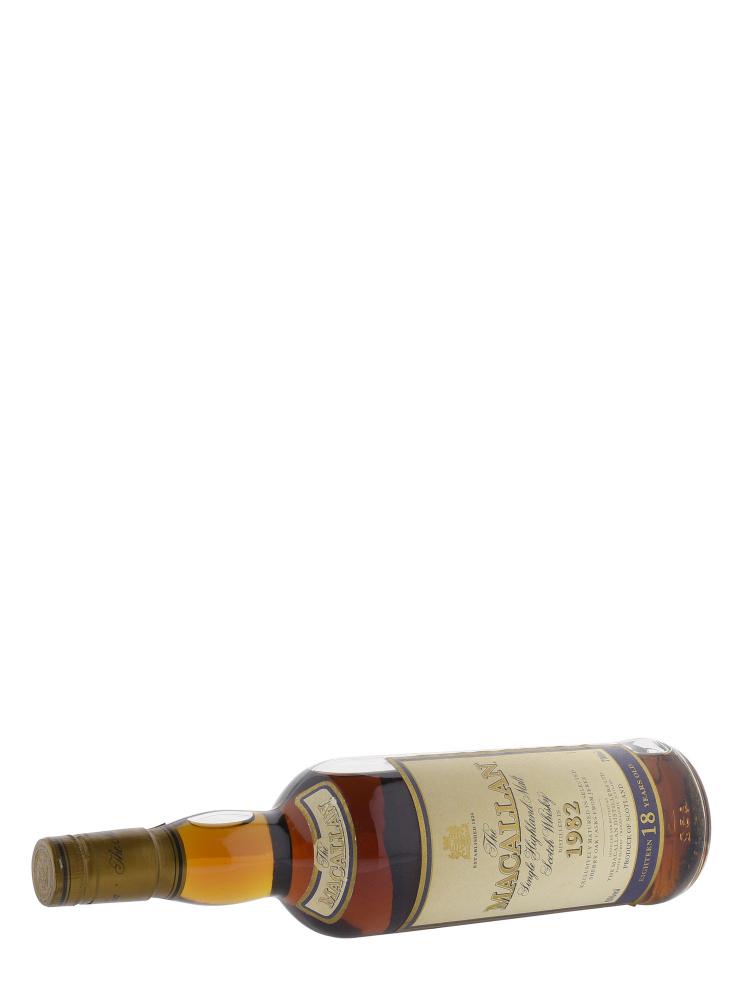 Macallan 1982 18 Year Old Sherry Oak (Bottled 2000) Single Malt Whisky 700ml
