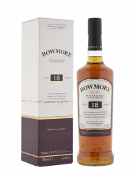 Bowmore 18 Year Old Deep and Complex Single Malt Scotch Whisky 700ml