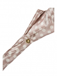 Pasotti Umbrella WAK70PA Chihuahua Handle Nude Dots Print