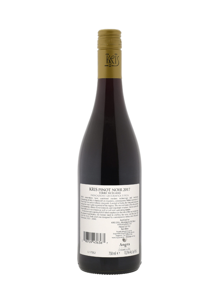 Kris Pinot Noir Terre Siciliane IGT 2017 - 6bots