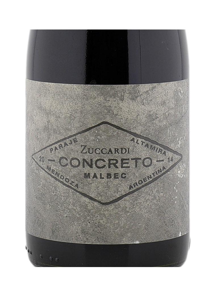 Zuccardi Concreto Malbec 2014