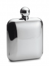 Philippi Hip Flask 138001 Churchill Mirror Stainless Steel 4oz