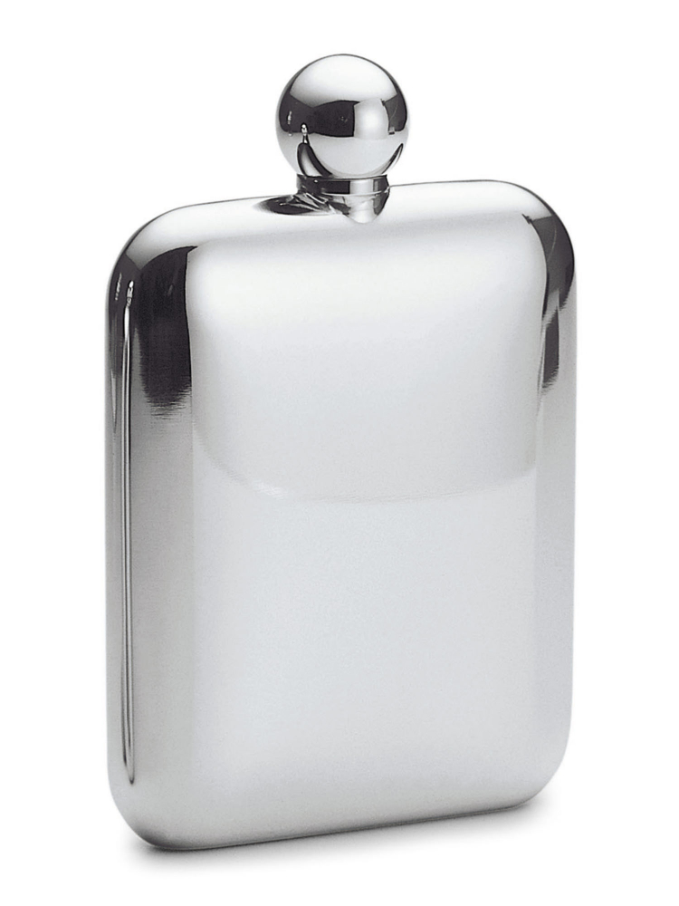 Philippi Hip Flask 138002 Churchill Mirror Stainless Steel 6oz