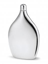 Philippi Hip Flask 222023 Moritz Leather Stainless Steel 3oz