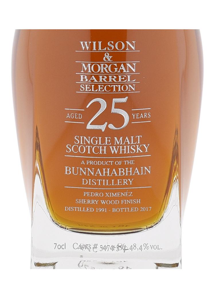 Bunnahabhain 1991 25 Year Old Decanter Cask #5474-5-6 Single Malt Whisky (Bottled 2017) 700ml