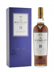 Macallan 1993 18 Year Old Sherry Oak w/Gift Box 700ml