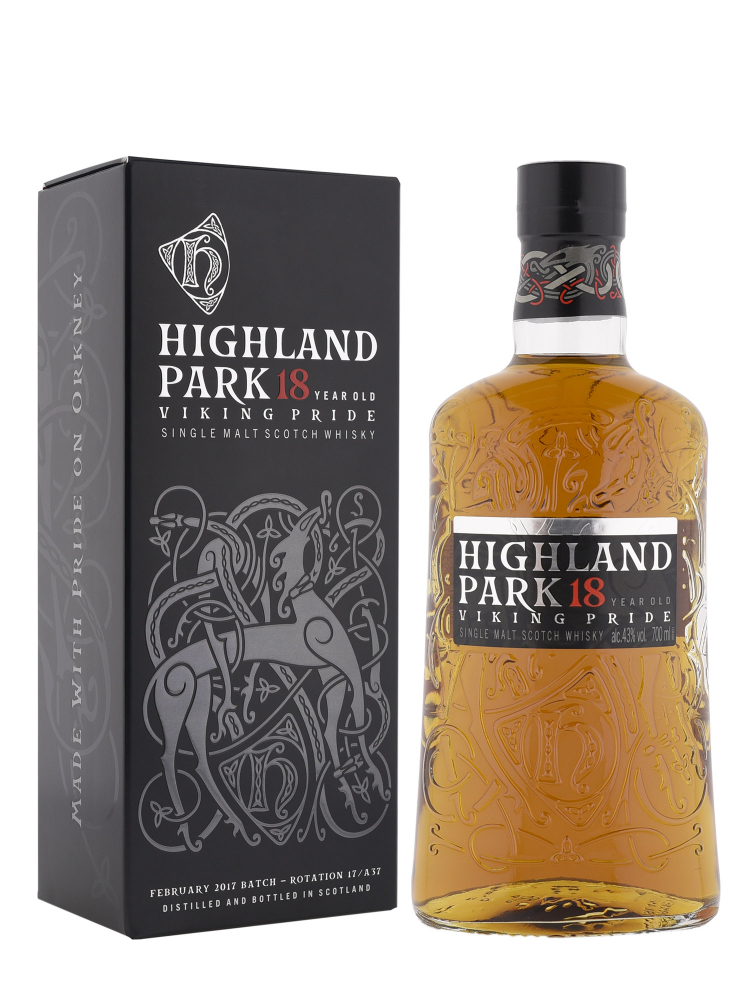 Highland Park 18 Year Old Viking Pride 700ml