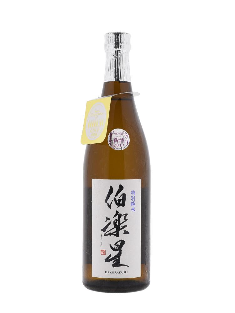 Sake Hakurakusei Tokubetsu Junmai 720ml