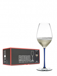 Riedel Glass Fatto A Mano Champagne Dark Blue 4900/28D