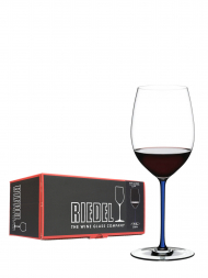 Riedel Glass Fatto A Mano Cabernet/Merlot Dark Blue 4900/0D
